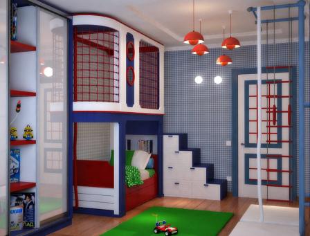Проектирование детской комнаты