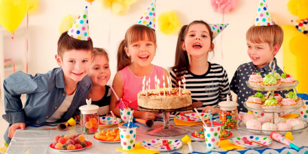 Празднуем день рождения ребенка